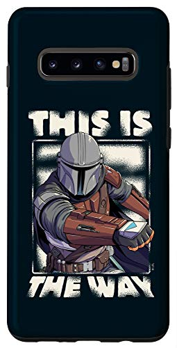 Galaxy S10+ Star Wars: The Mandalorian This Is The Way Case