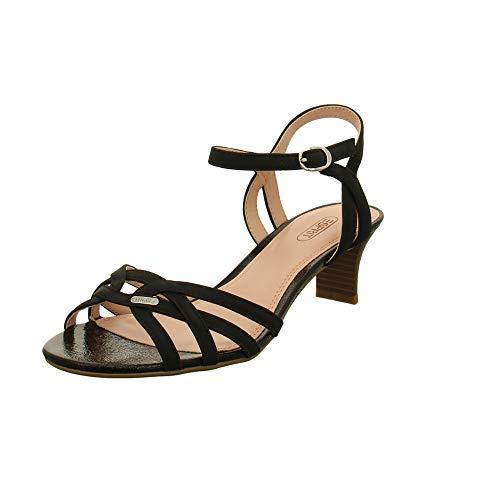 ESPRIT Damen Pumps Birkin Nub. Sandal Sandalette 039EK1W047/001 schwarz 754855
