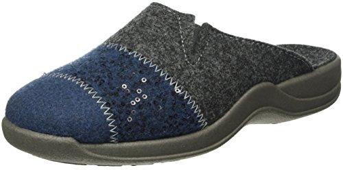 Rohde Vaasa-D, Damen Pantoffeln, Blau (Blau 50), 39 EU