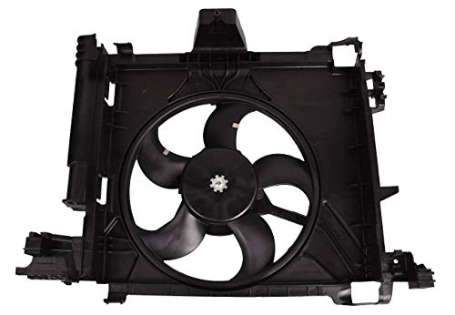 Bapmic 0002009323 Electric Cooling Fan Assembly for Smart Car Fortwo 2007-2015