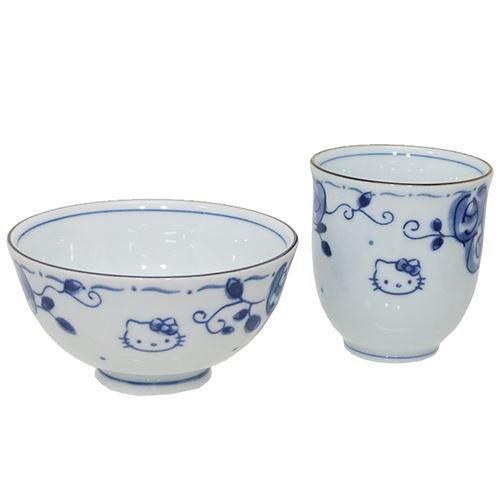Peanuts Snoopy Rice Bowl Japanese Ceramics Face Black and White