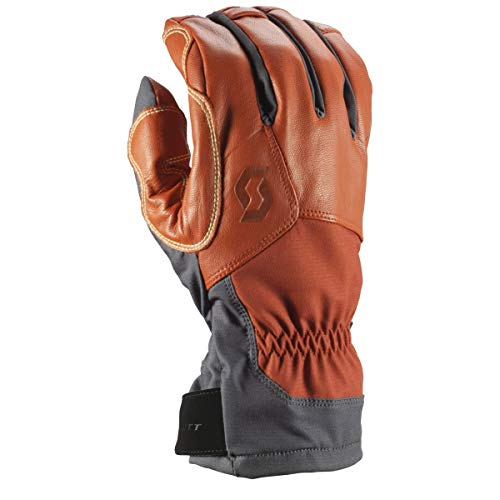 SCOTT Explorair Tech Glove (Dark Grey/Burnt Orange, S) - Men's