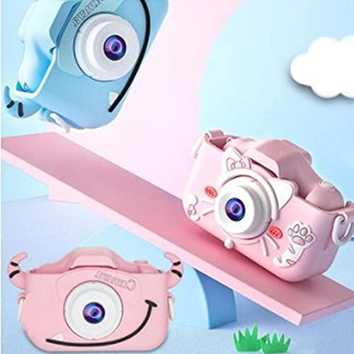 WGG Mini cámara Digital para niños HD Doble cámara de 20 Millones de píxeles Cámara Infantil Lindo Dibujos Animados Juguetes Regalos de cumpleaños aprendiendo recompensas