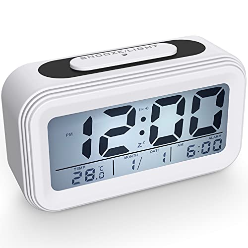 Coolzon Despertador Digital, Alarma Reloj Despertador Pilas para Infantil Niño Adulto, Despertador...