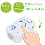 CPAP Cleaner Sanitizer, 2200mAh USB Ventilation Disinfector CPAP Air Disinfection, Ozone Sterilization