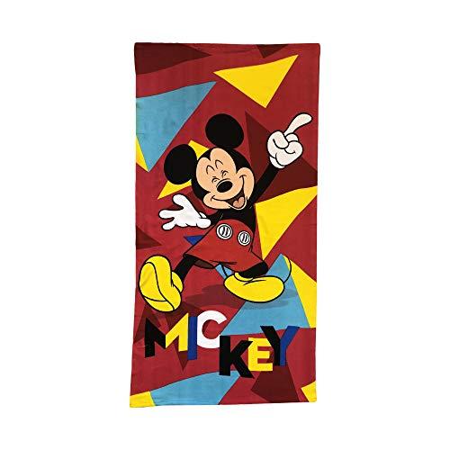 Disney Mickey Mouse Happy Mickey 1 Finger up! Microfiber Kids Towel