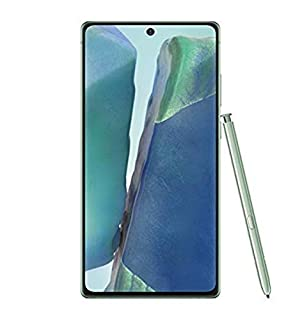 Samsung Galaxy Note20 5G Factory Unlocked Android Cell Phone | US Version | 128GB of Storage | Mystic Green with Verizon SIM Kit for eGift Card (B08JRZHM1P) | Amazon price tracker / tracking, Amazon price history charts, Amazon price watches, Amazon price drop alerts