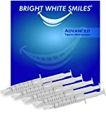 Bright White Smiles Teeth Whitening Kit, 35% Carbamide Peroxide Gel for Professional Results at Home, Whiter Refill System Includes 5X 5cc/ml Syringes