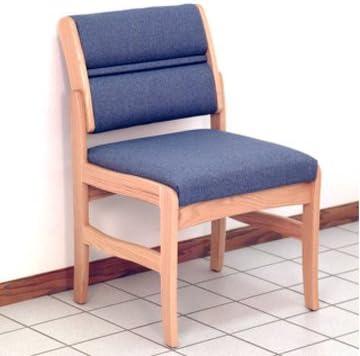 FixtureDisplays Valley Armless Rare Guest San Jose Mall Chair 1040979-NPF