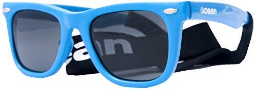 OCEAN SUNGLASSES - Cape Town - lunettes de soleil polarisÃBlackrolles - Montuur: Blanc LaquÃBlackroll - Verres : FumÃBlackroll (17100.3)