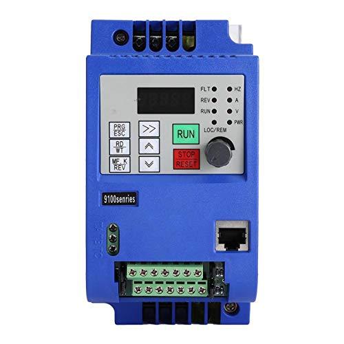 VFD de variador de frecuencia confiable monofásico a trifásico de 0.75KW para control de velocidad