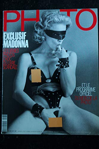 PHOTO 297 COVER MADONNA NUE BETTINA RHEIMS EROTIQUE HELMUT NEWTON NUS LUTENS MULAS 92