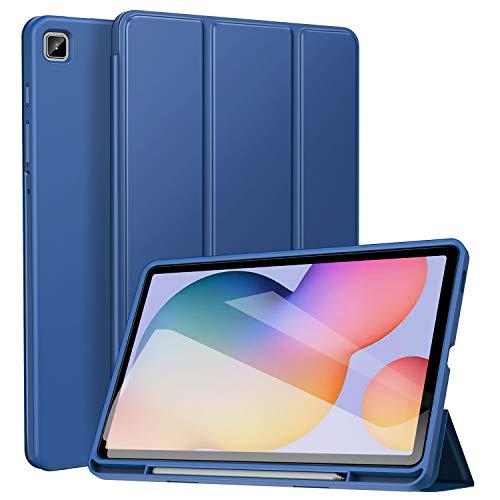 ZtotopCase Hoes voor Samsung Galaxy Tab S6 Lite 10.4 2020 - Funda Inteligente ultradunne Lightweider, con función de Apagado y Encendido automático, para Galaxy Tab S6 Lite 10,4 Pulgadas, Color Azul
