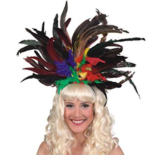 Carnival Headdress Multicolor