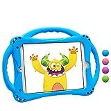 TopEsct Funda para iPad Mini Niños Shock Proof Material Silicona Lightweight Kids Protector Cover Case con Manija para Apple iPad Mini5 / Mini4 / Mini3 / Mini2 / Mini1 7.9 Pulgadas Tableta (Azul)