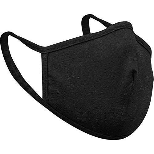 Máscara facial de algodão de camada dupla 212 preta 1 peça – Caixa de: 1;