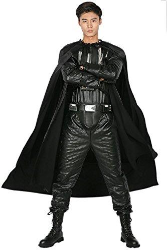 Xcoser Darth Vader Kostüm für Erwachsene, Halloween, Cosplay-Anzug - - Medium (US 5'6