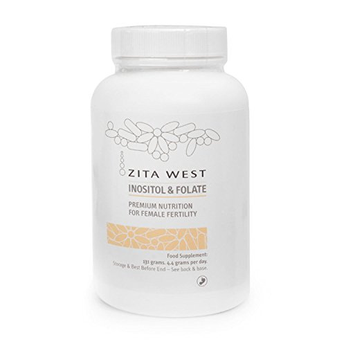 Zita West Inositol and Folate - Myo-inositol and L-Methyl Folate. Research suggests it May Help with Ovulation for Women with PCOS and with Egg Quality Generally
