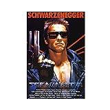 Terminator Movie Arnold Schwarzenegger mit Pistole 80er