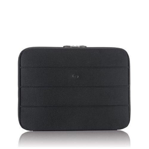 Solo New York Bond Padded Laptop Sleeve, Black, 17.3 Inch