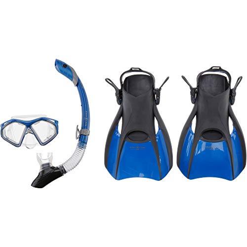 Aqua Lung Set Trooper Schnorchelset blau...