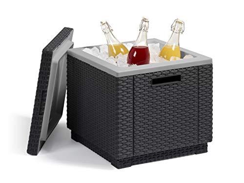 Allibert Beistelltisch/Kühlbox Ice Cube 40 Liter, graphit - 6