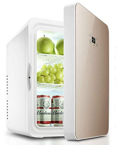 22L Kühlschrank Mini Small Kühlschrank Kühlschrank Studentenwohnheim Cold And Warm Box Kosmetik Auto Dual-Use Gekühlte Frische