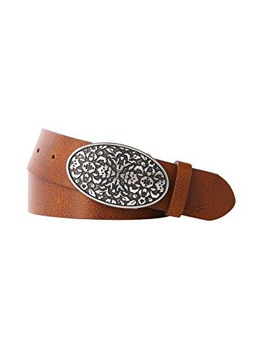 TOM TAILOR Cinturón de cuero Fabricado en Alemania Mujer