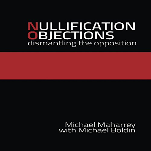 Nullification Objections audiobook cover art