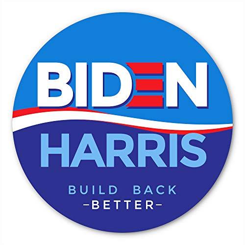 Freevana Biden Harris Aufkleber | Vinyl-Aufkleber für Präsident Joe Biden und Kamala Harris mit einer Anti-Trump-Nachricht (10,2 x 10,2 cm)