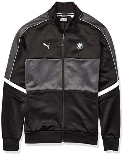 PUMA Mens BMW M Motorsport T7 Track Jacket, Black, XXL