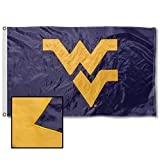 College Flags & Banners Co. West Virginia Mountaineers Embroidered and Stitched Nylon Flag