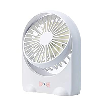 SaveStore Personal Fan Hand USB Fans with LED Night Light Portable Air Conditioning Arctic Air Cooler with 1200mah Rechargeable Battery