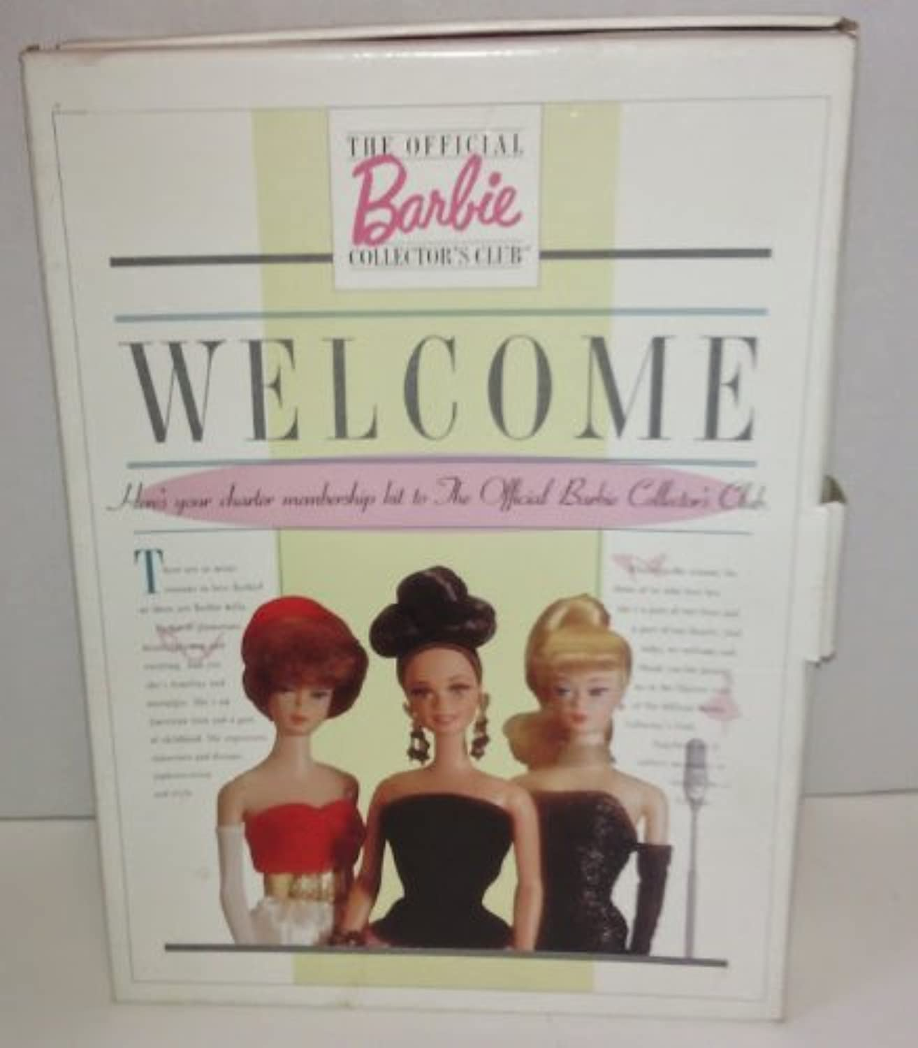 The Official Barbie Collector's Club Box Set (Without Barbie Pin & Membership Card) by Barbie