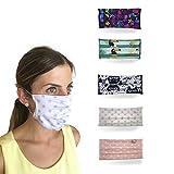 Pack mascarillas reutilizables lavables para adultos, mujer y hombre | Diseño original | 5 piezas