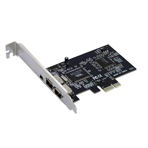 Nilox - Tarjeta PCI Express Adapter 3+1 Firewire Ports