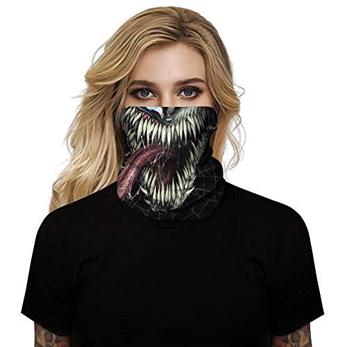 perpetualu Sport Kopftücher, Outdoor-Sport Sonnenschutz UV-Schutzmaske Hals Winddichter Schal Atmungsaktive Kopftücher