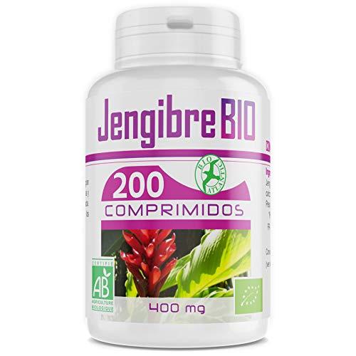 Jengibre Bio - 400 mg - 200 comprimidos