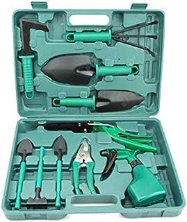 10pcs Garden Tool Set Grass Shovel Pruning Scissors Watering Can