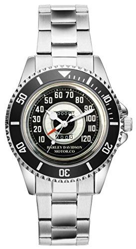 Regalo para Harley Davidson Moto Fan Conductor Kiesenberg Reloj 10018