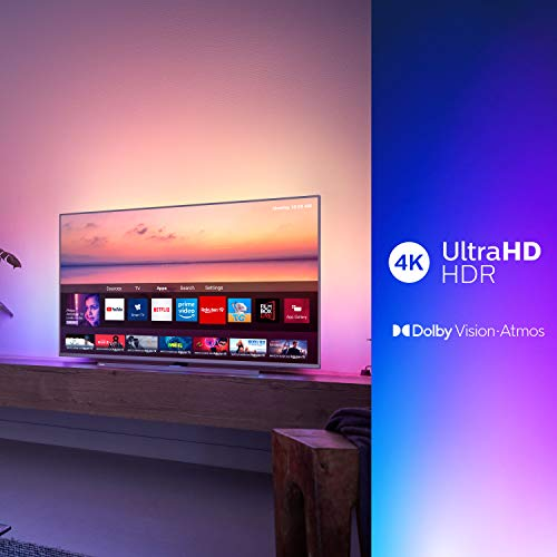 "Philips 6800 series 55PUS6814/12 55"" 4K UHD Smart TV, Amazon Alexa built-in, Ambilight, HDR 10+, Dolby Vision, Dolby Atmos"
