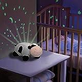 2 in1 Luz nocturna y proyector de estrellas para bebé habitación de los Niños, 3 de colores de LED luces (Azul, Rojo y Verde) ajustable