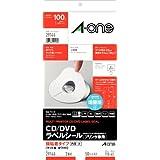 エーワン ラベルシール CD/DVDラベル A4 2面 50シート 29146