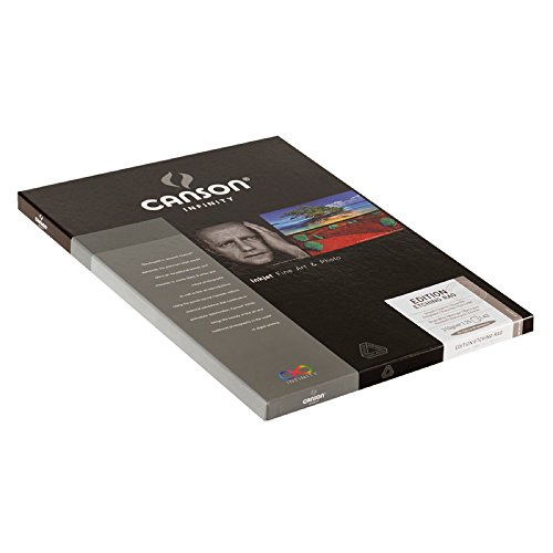 Canson Infinity Edition Etching Rag 310gsm, Natural White Matte Inkjet Paper, A3+, Box of 25 Sheets