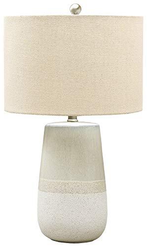 Signature Design by Ashley - Shavon Ceramic Table Lamp - Beige/White