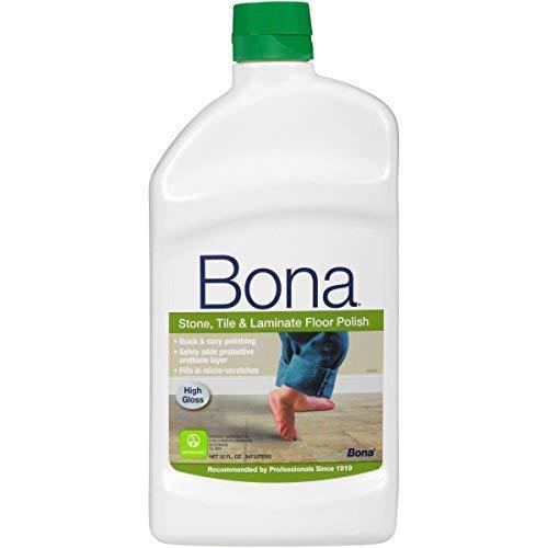Bona WT760051161 32-Ounce Stone Tile and Laminate Floor Polish FamilyValue 2Pack (32oz)