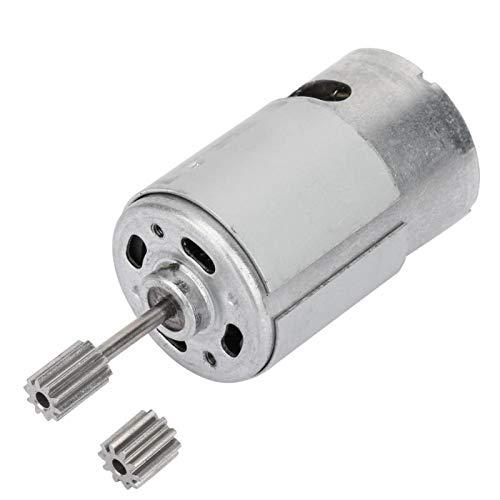 1 micromotor de alta velocidad 6V RS550 para coche eléctrico de juguete,...