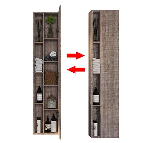Wandkast slaapkamer meerlaags opslagkast massief houten kast badkamerkast bijzetkast combinatie