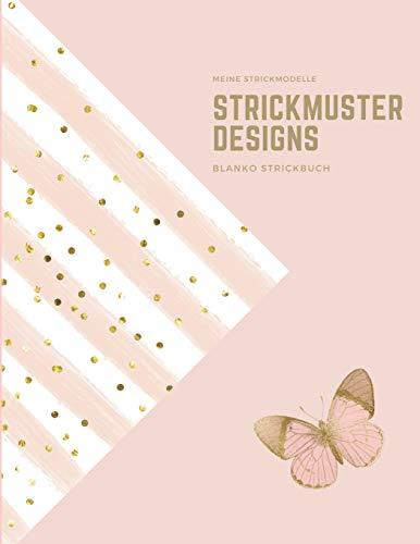 Meine Strickmodelle: Strickmuster Designs, Blanko Strickbuch, Strickpapier