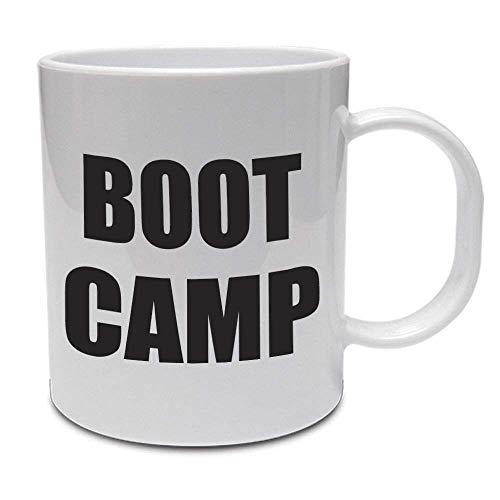N\A Boot Camp - Fitness/Ejercicio/Salud/Novedad/Idea de Regalo Divertida Taza de cerámica